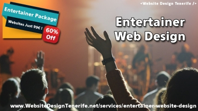 Entertainer Web Design
